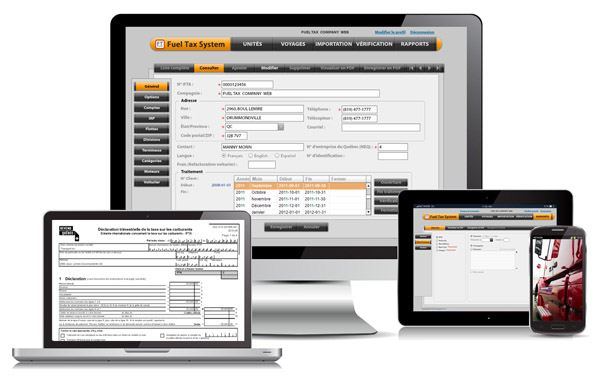 Fuel Tax System Software